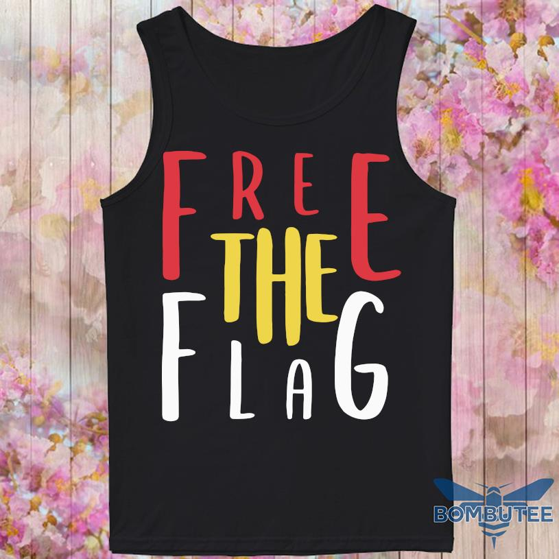Free The Flag Shirt -tank top