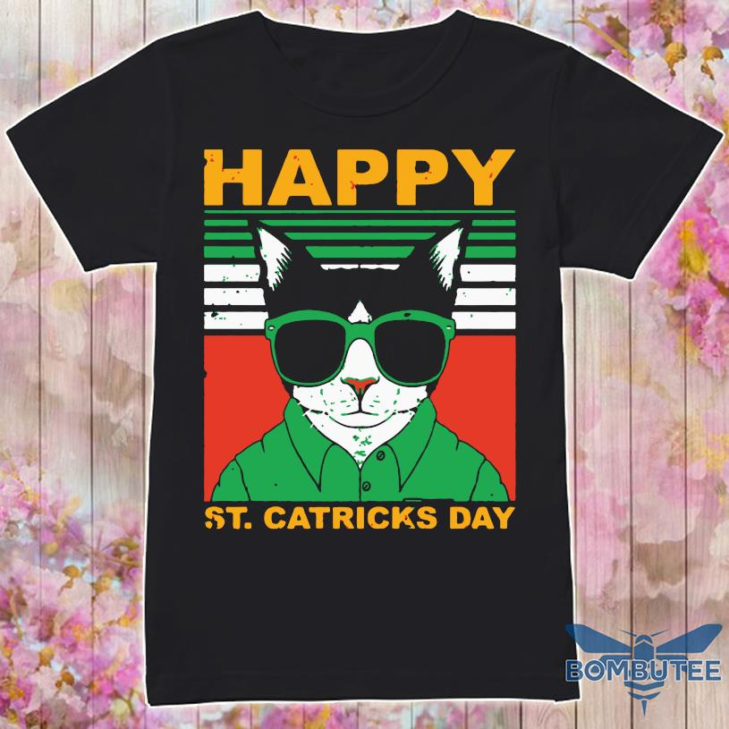 Happy St Catricks Day Vintage Shirt