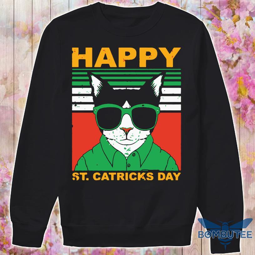 Happy St Catricks Day Vintage Shirt -sweater