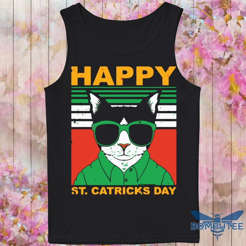 Happy St Catricks Day Vintage Shirt -tank top