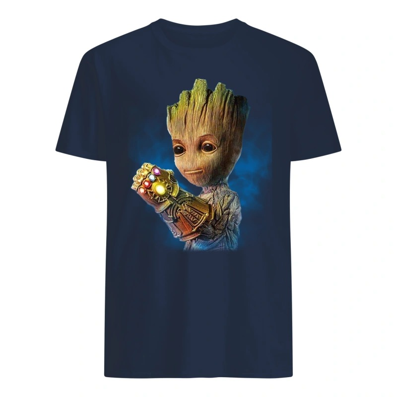Alright who gave baby groot the infinity gauntlet shirtAlright who gave baby groot the infinity gauntlet shirt