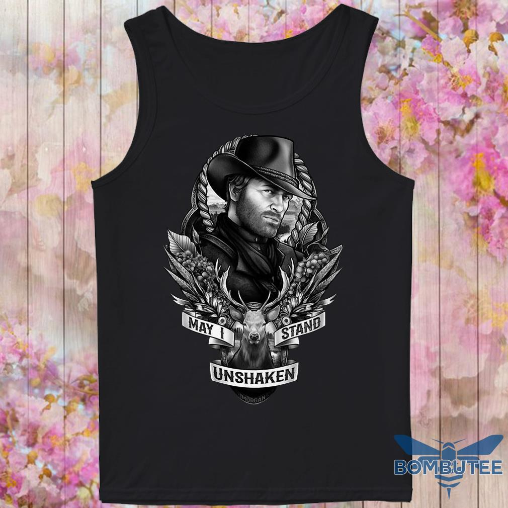 Arthur Morgan May I Stand Unshaken tank top