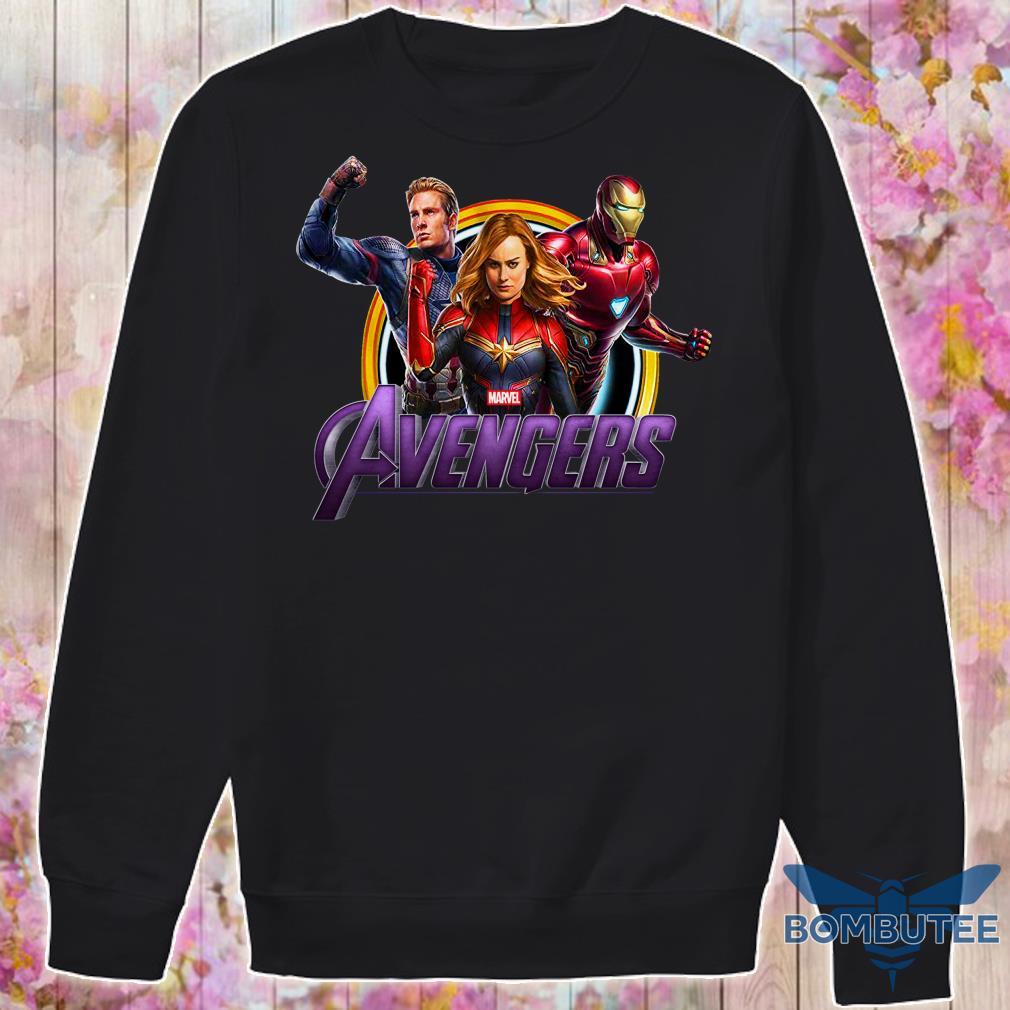 Avenger Endgame Captain Marvel, Iron Man And Captain America Avenger Endgame Captain Marvel, Iron Man And Captain America sweater