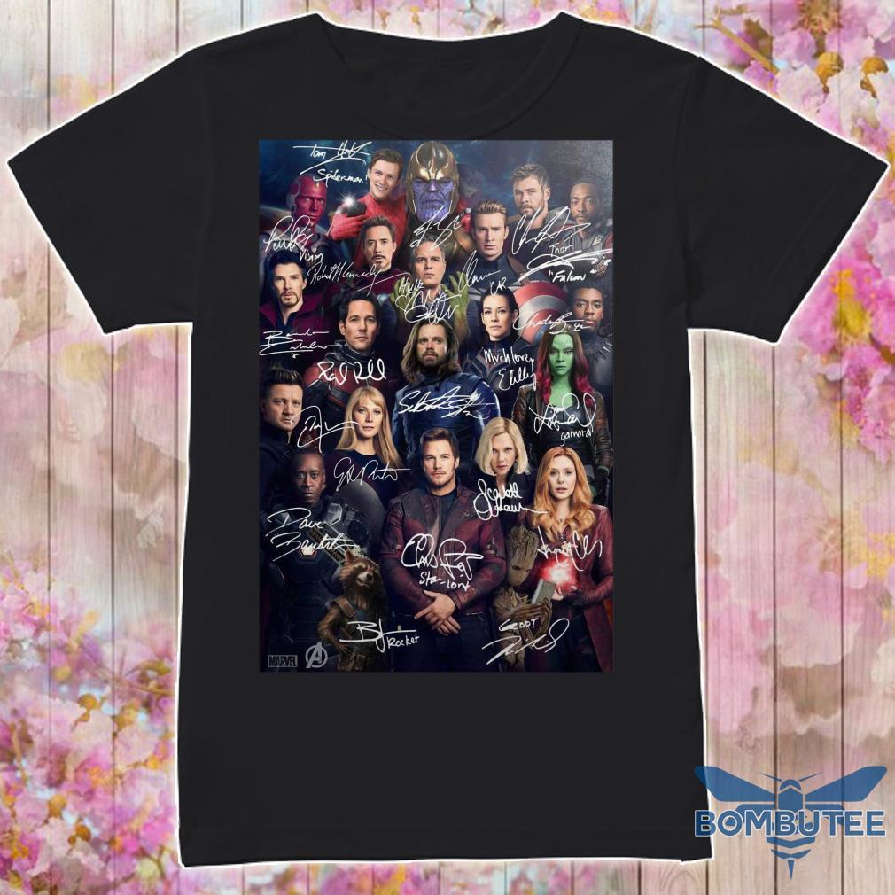 Avenger Endgame Poster Shirt