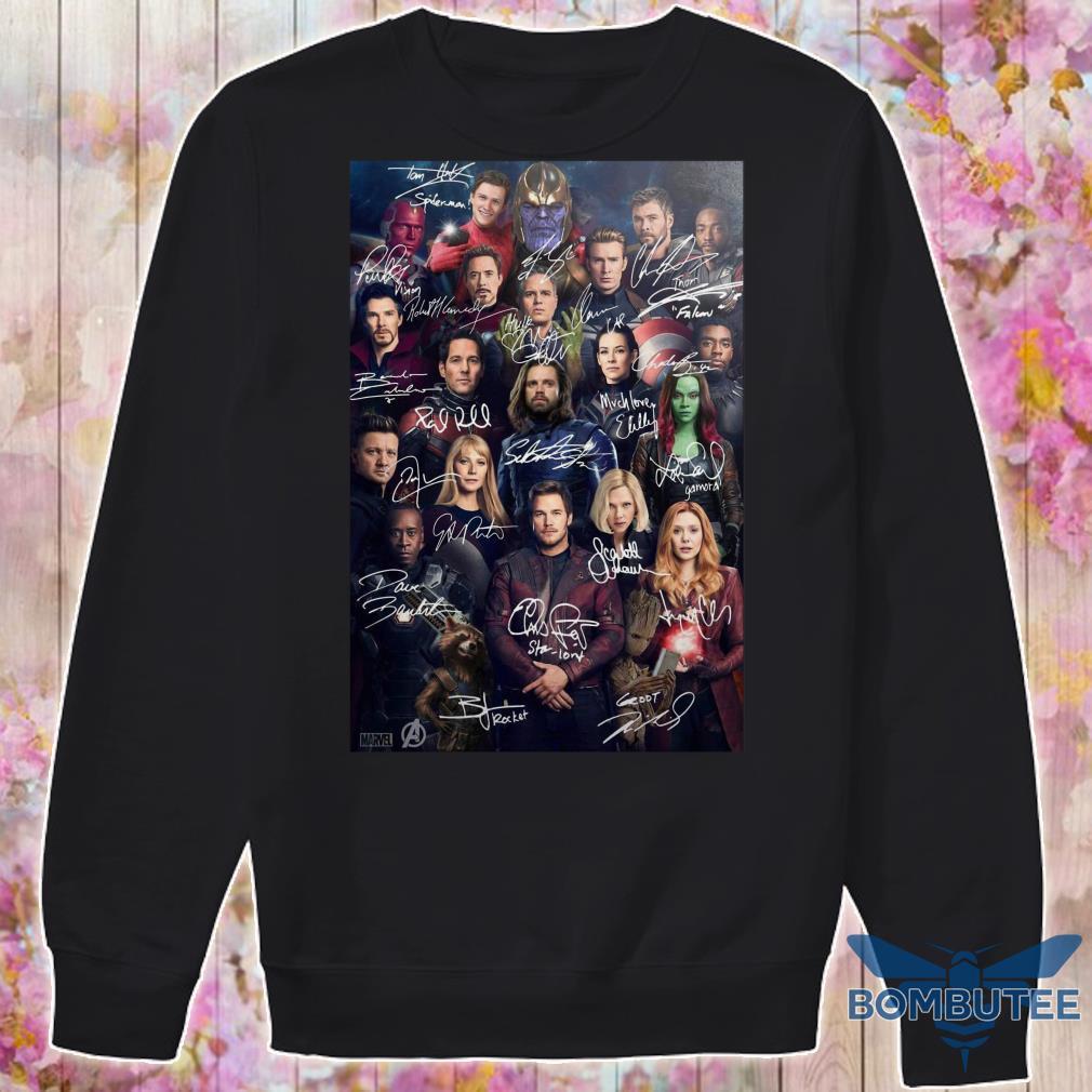 Avenger Endgame Poster sweater