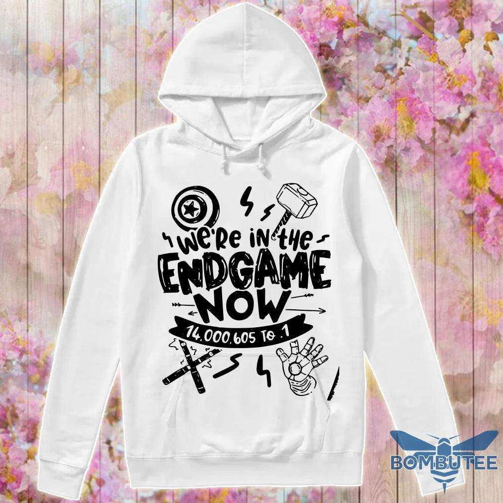 Avengers end game we're in the endgame now hoodie