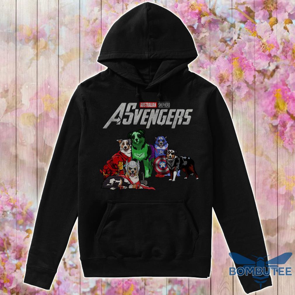 Avengers EndGame Australian Shepherd Dog Version hoodie