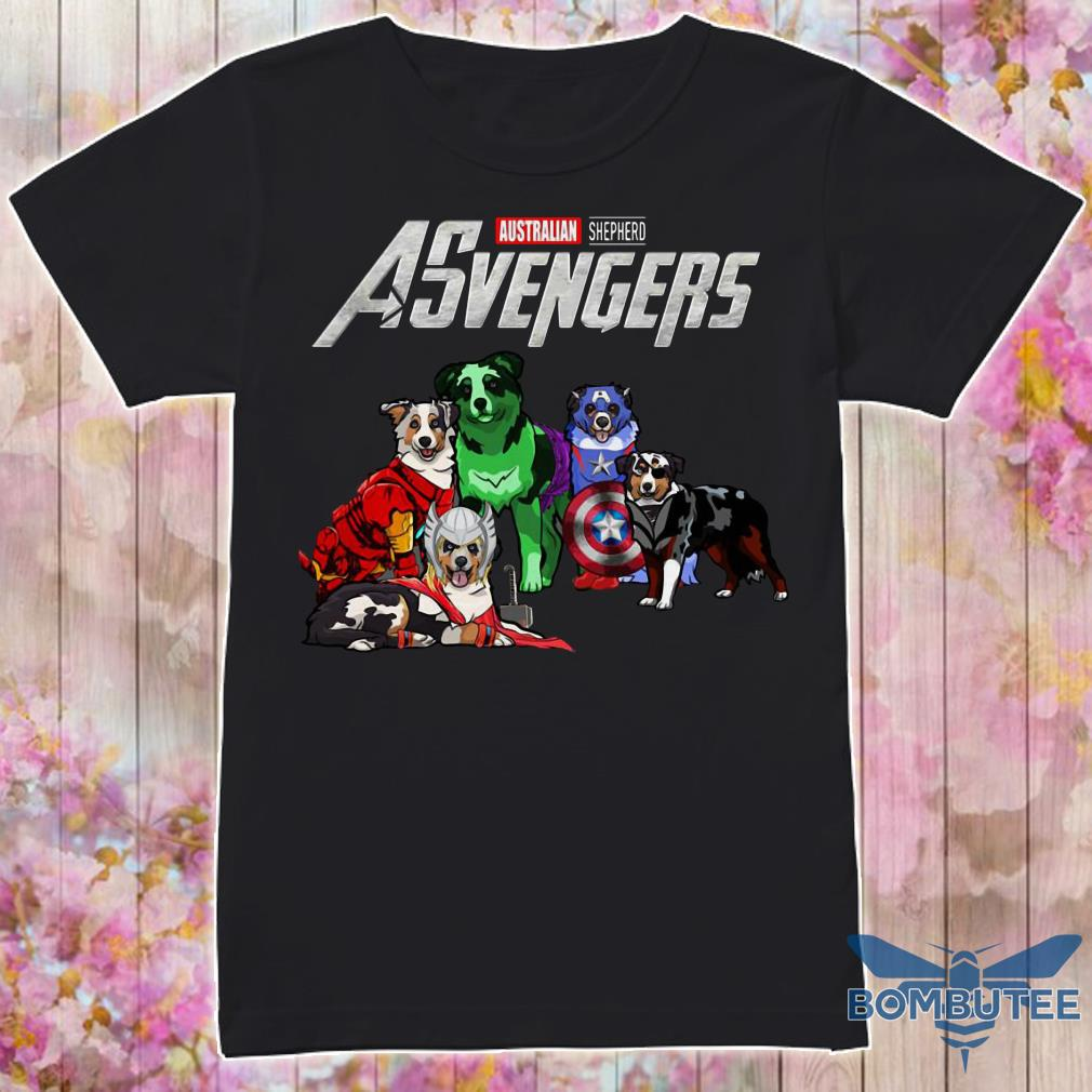 Avengers EndGame Australian Shepherd Dog Version shirt