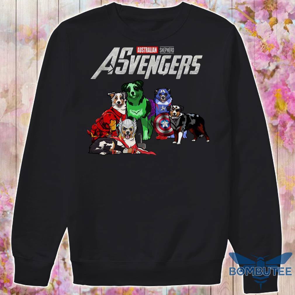 Avengers EndGame Australian Shepherd Dog Version sweater