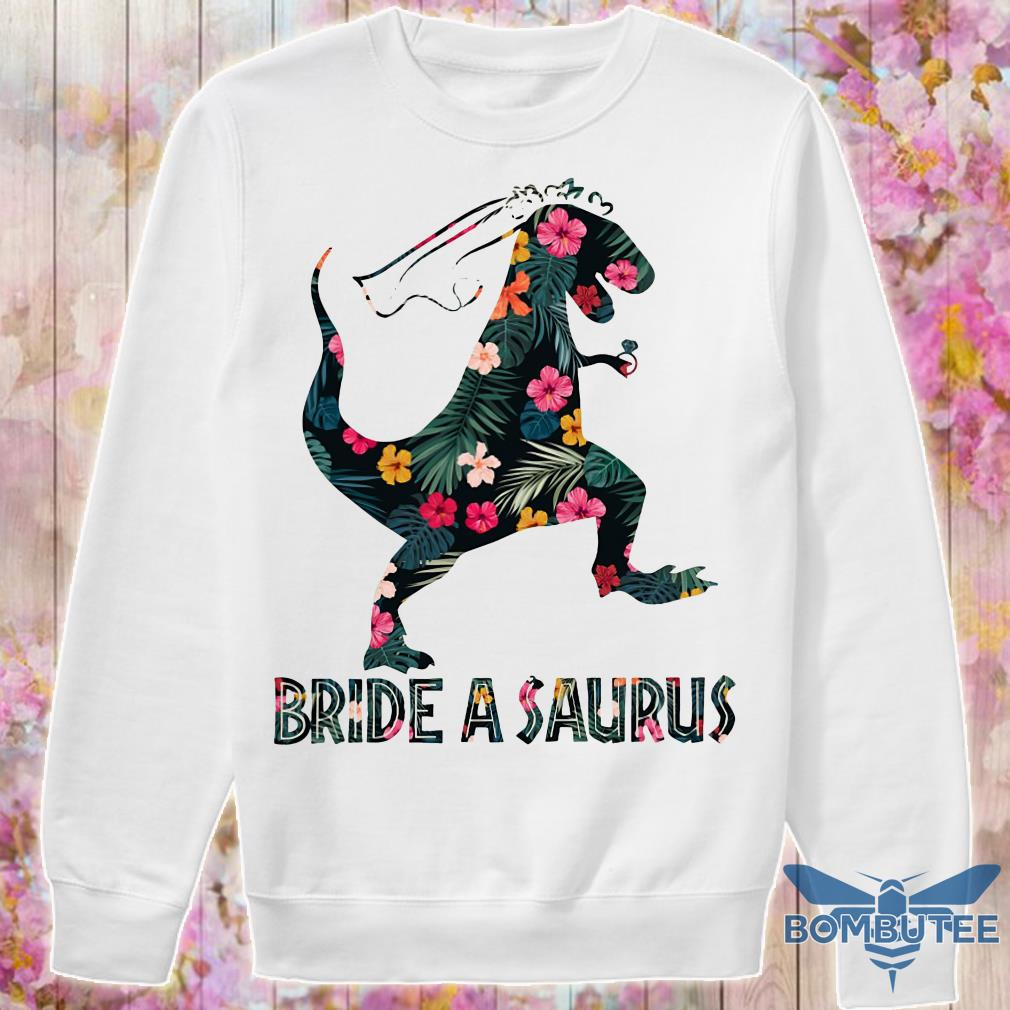 Bride a saurus floral sweater