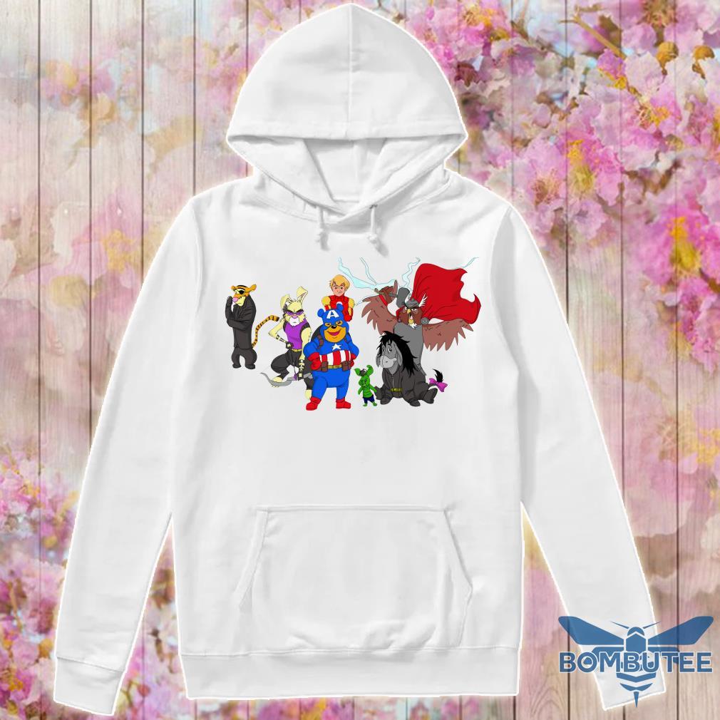 Disney Avengers Winnie The Pooh hoodie