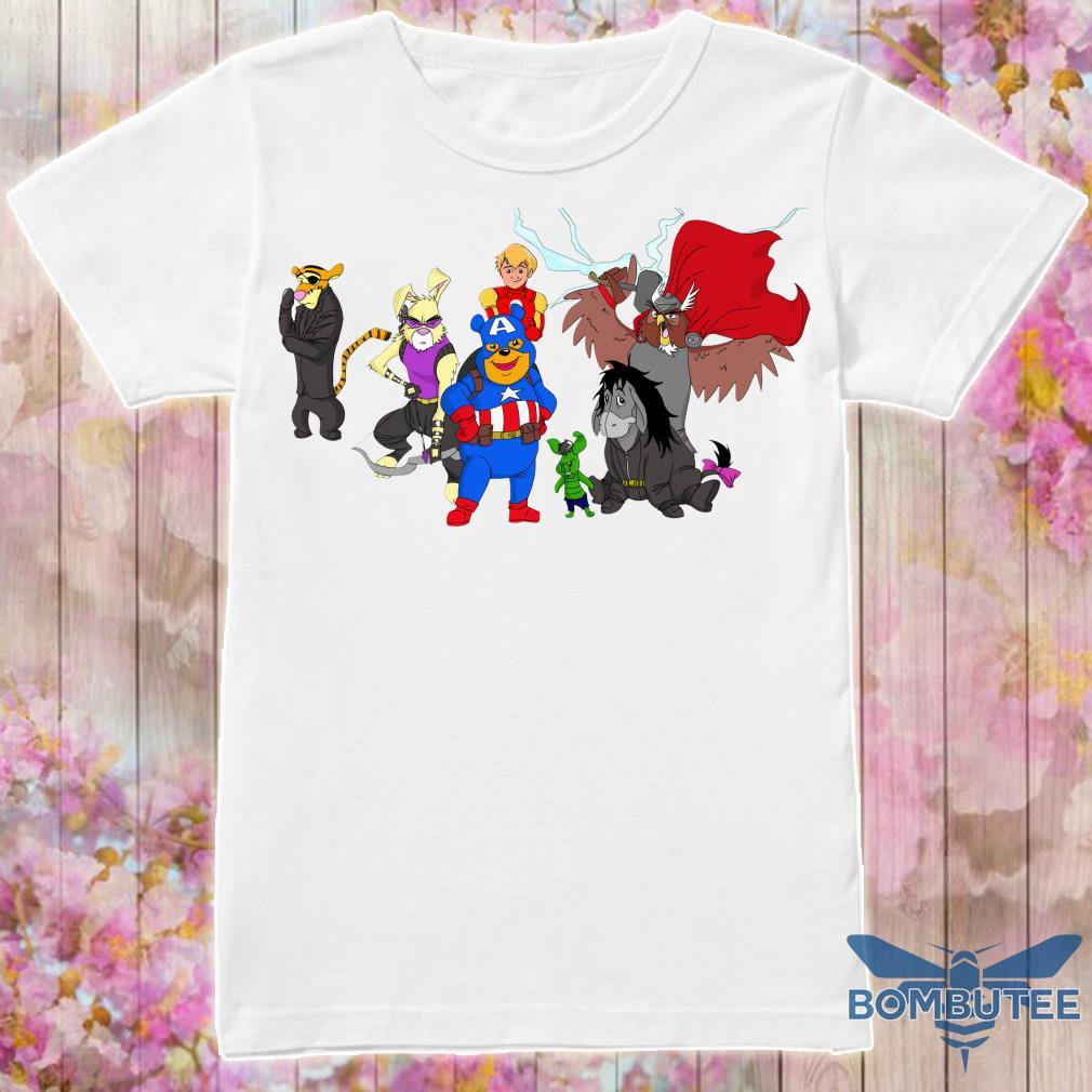 Disney Avengers Winnie The Pooh shirt