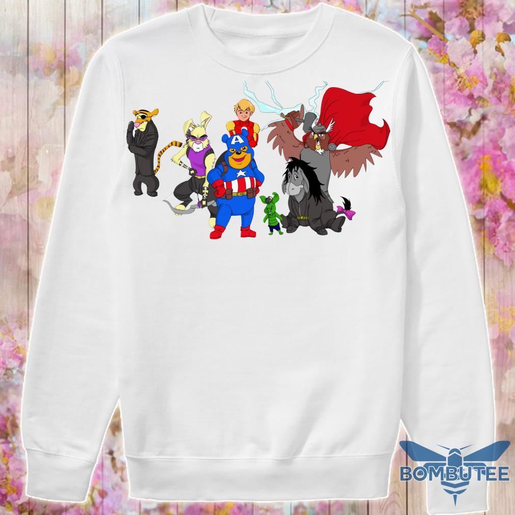 Disney Avengers Winnie The Pooh sweater