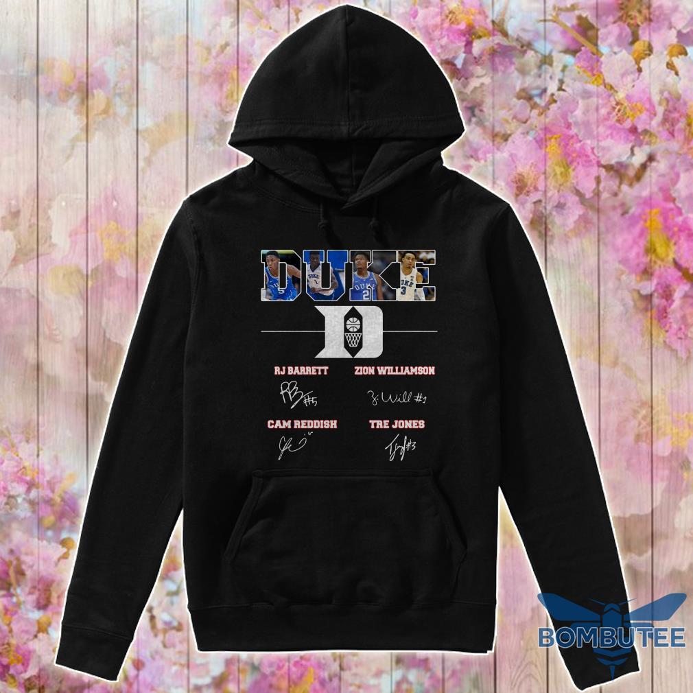 Duke Rj Barreit Zion Williamson signature hoodie