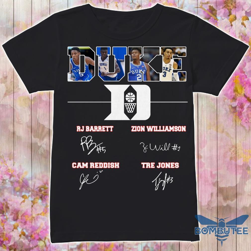 Duke Rj Barreit Zion Williamson signature shirt