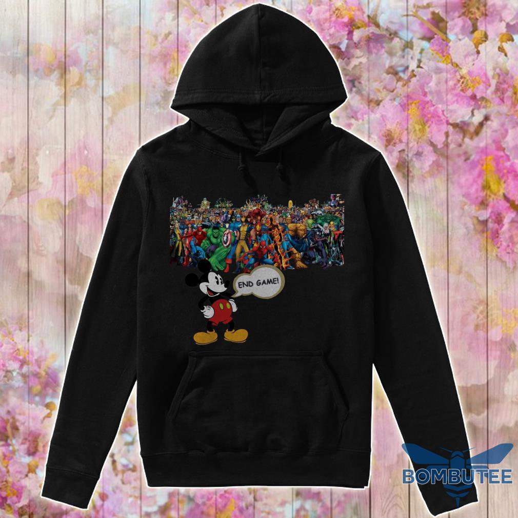 Endgame Mickey mouse vs avenger marvel hoodie