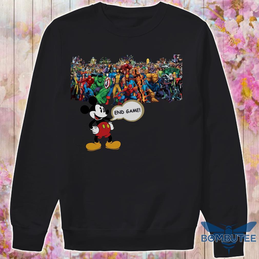 Endgame Mickey mouse vs avenger marvel sweater