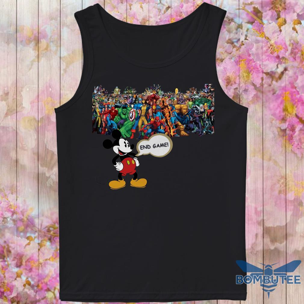 Endgame Mickey mouse vs avenger marvel tank top