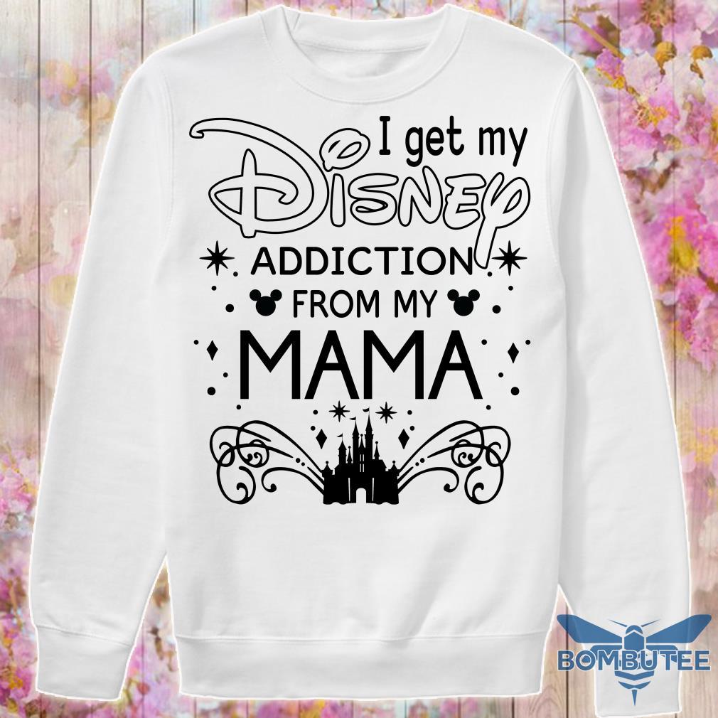 I get my disney addiction from my mama sweater