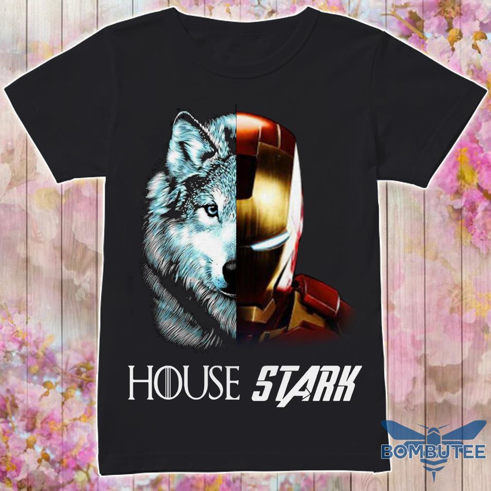 Ironman GOT House Stark Shirt