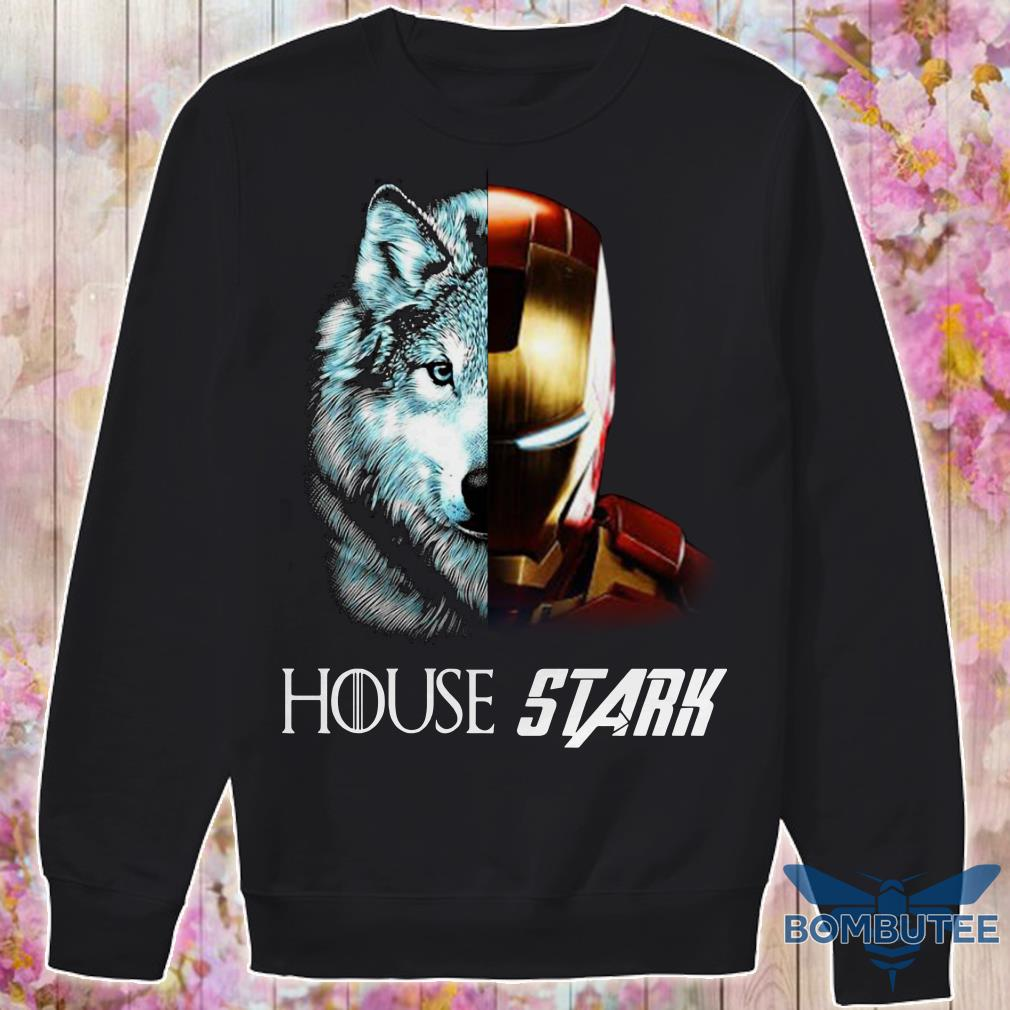 Ironman GOT House Stark sweater