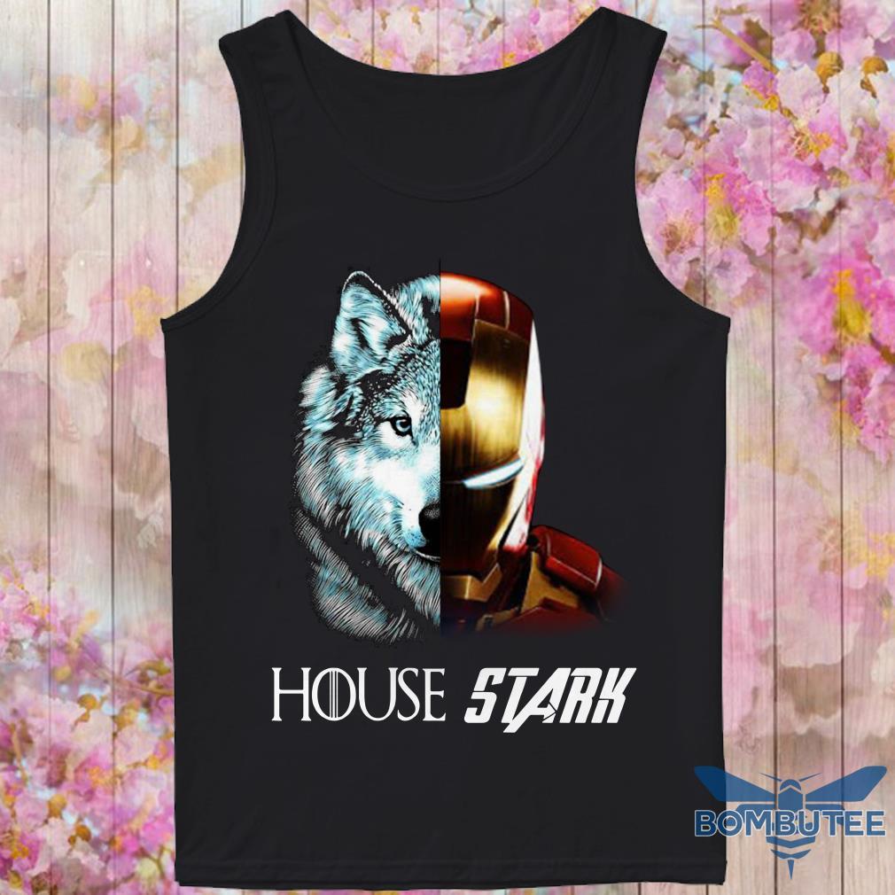 Ironman GOT House Stark tank top