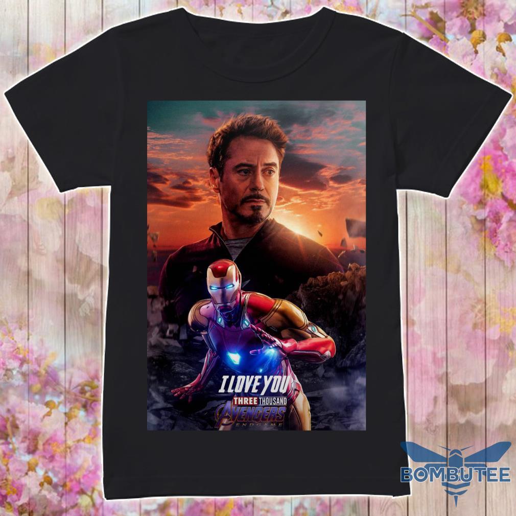 Ironman I Love You Three Thousand Potter shirt