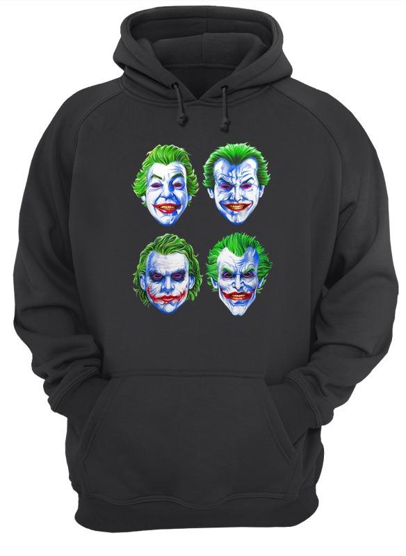 Joker Faces of Insanity hoodie