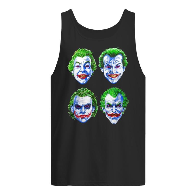 Joker Faces of Insanity tank top