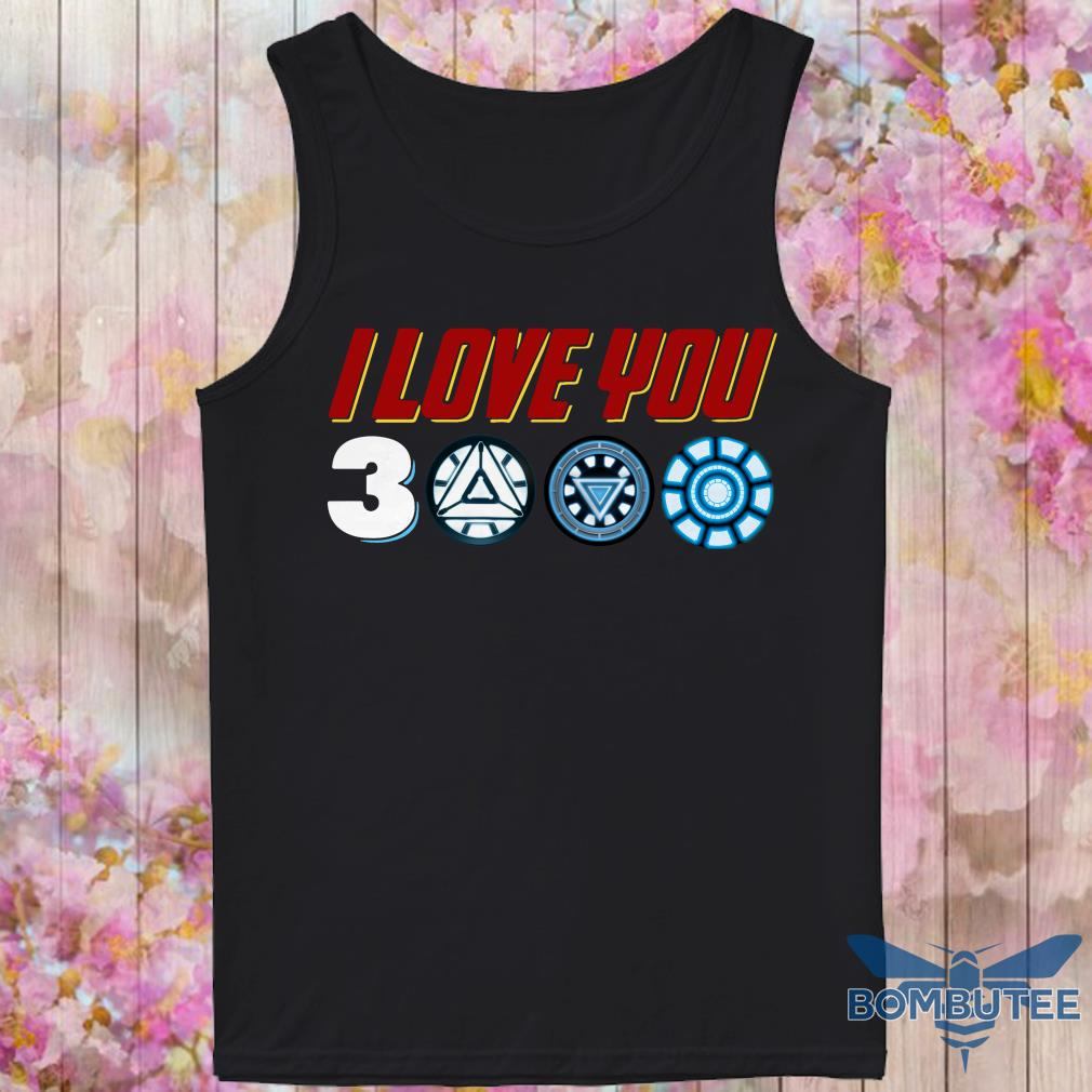 I Love You 3000 tank top