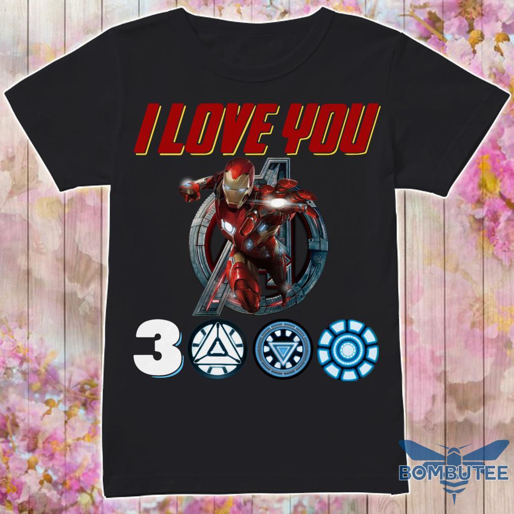 I Love you Ironman 3000 shirt