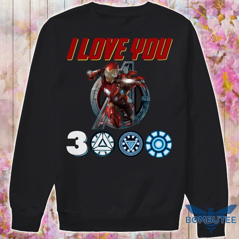 I Love you Ironman 3000 sweater