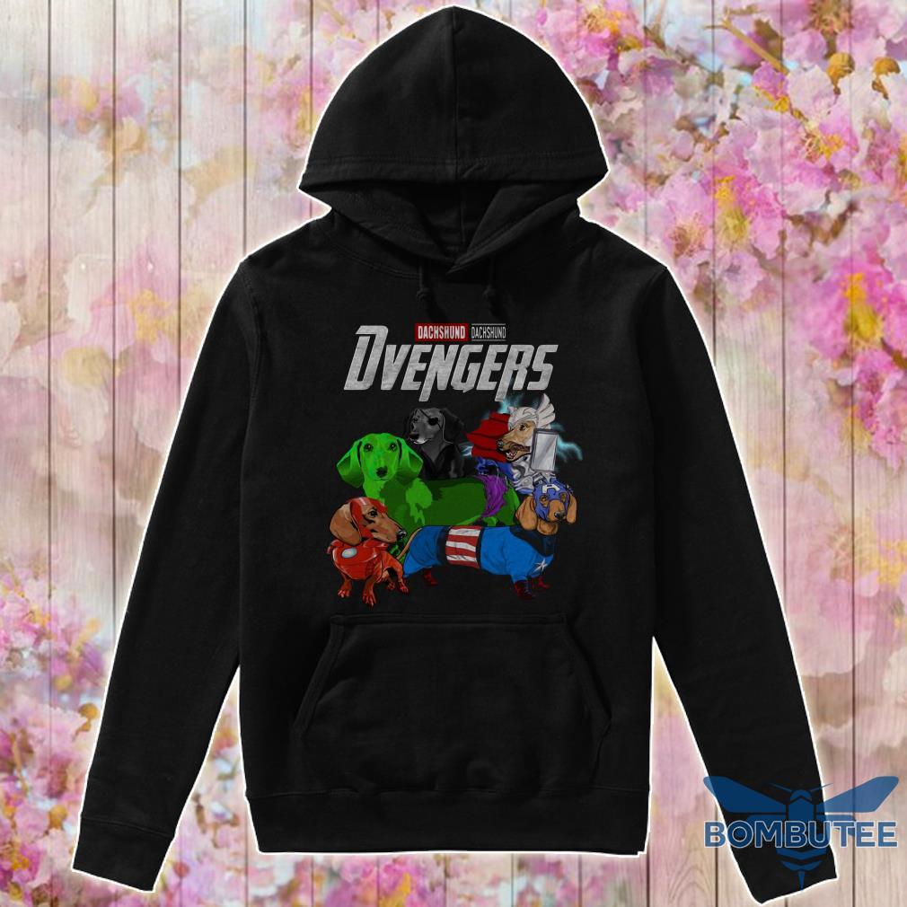Marvel Avenger Endgame Dvengers Dachshund version hoodie