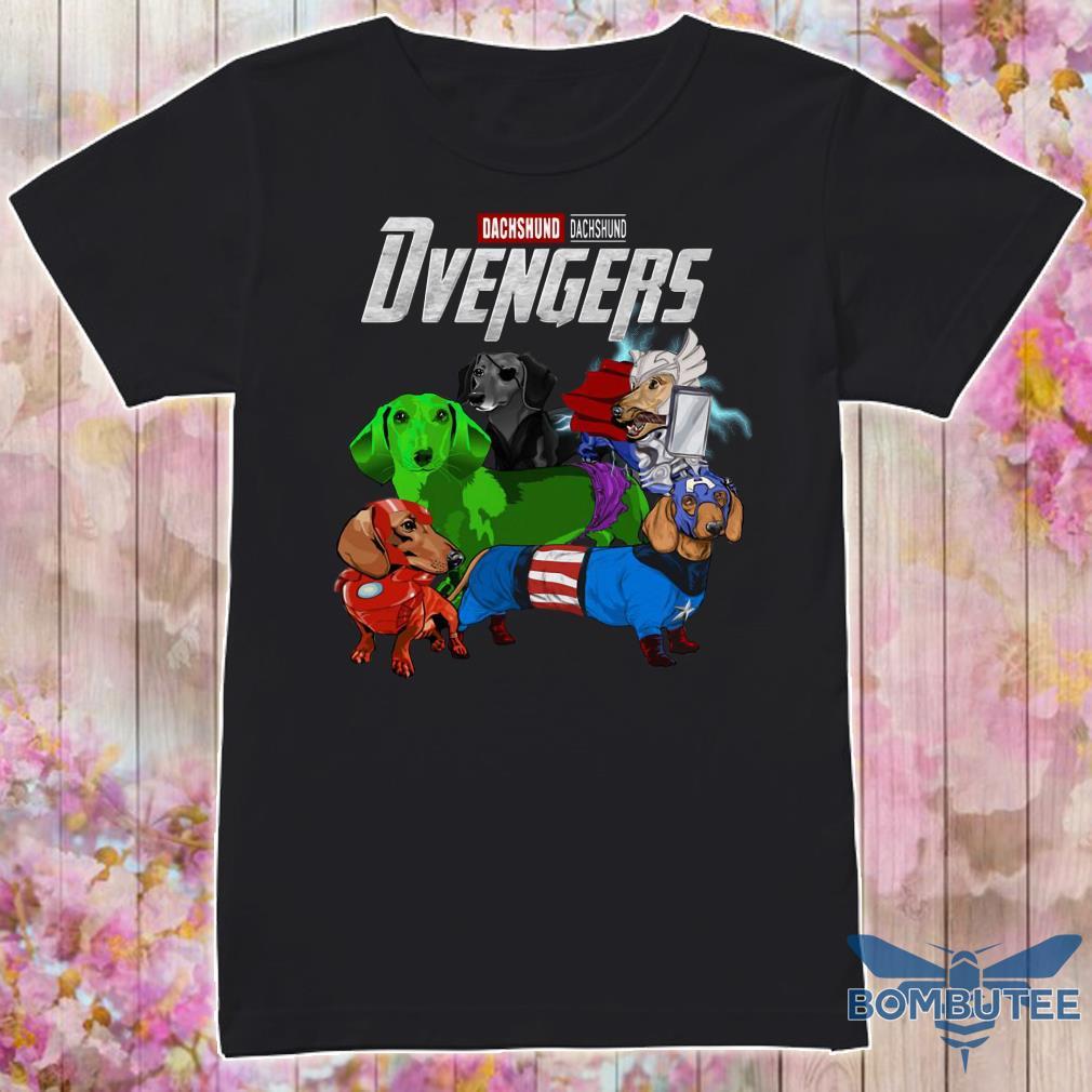 Marvel Avenger Endgame Dvengers Dachshund version shirt