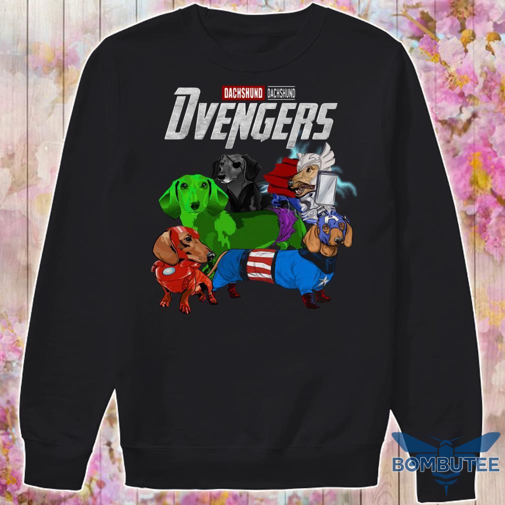 Marvel Avenger Endgame Dvengers Dachshund version sweater