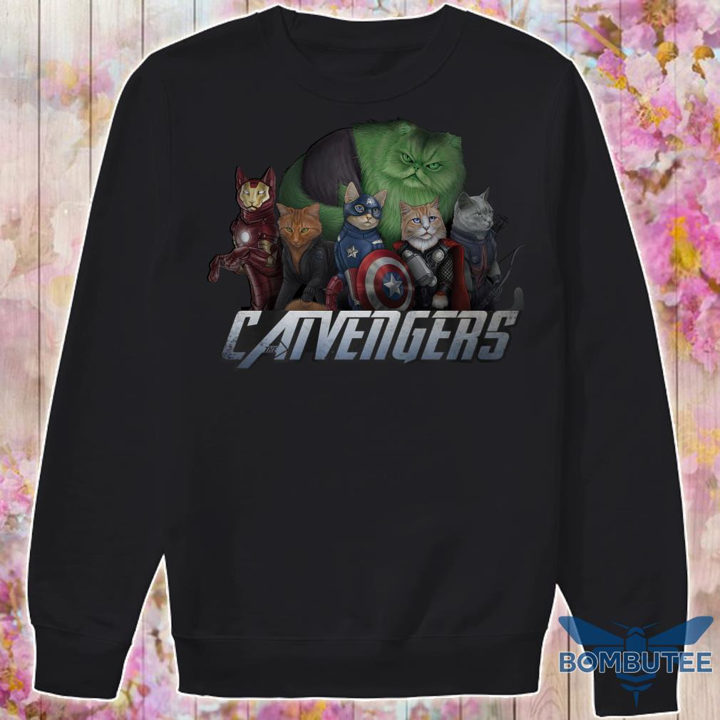 Marvel Super Heroes Catvengers version Cats sweater