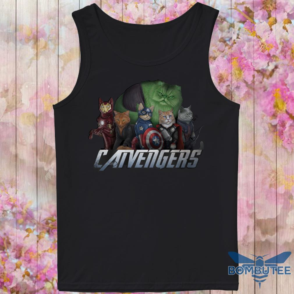 Marvel Super Heroes Catvengers version Cats tank top