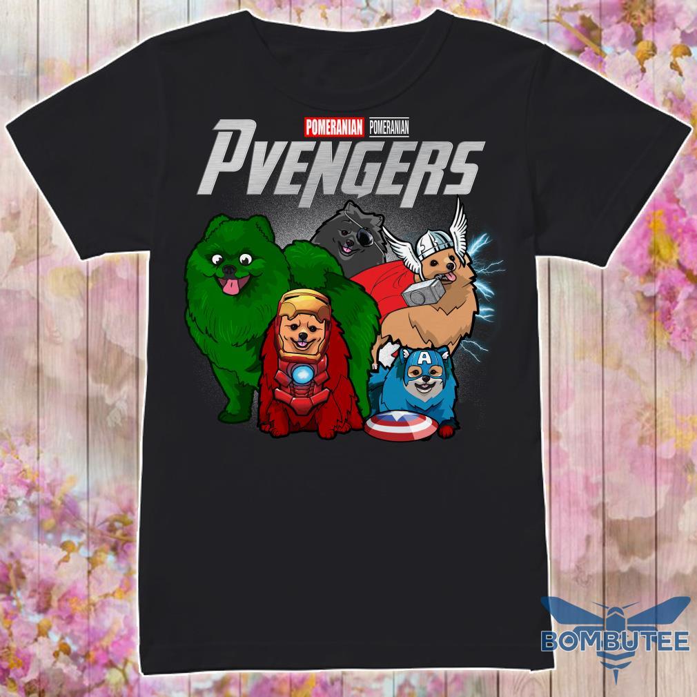 Pomeranian Pvengers Marvel avengers endgame shirt