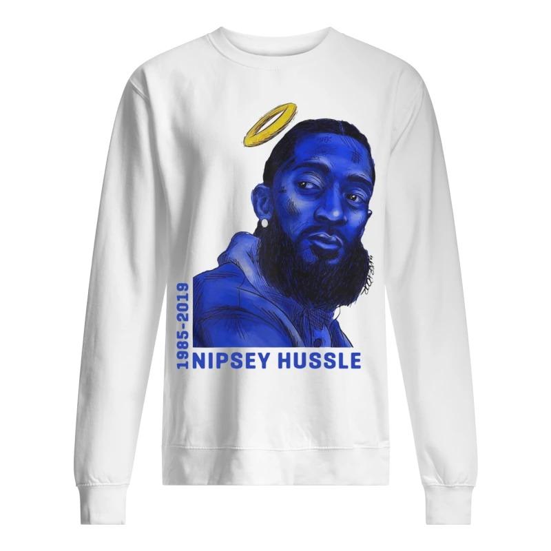 Rip Nipsey Hussle sweater