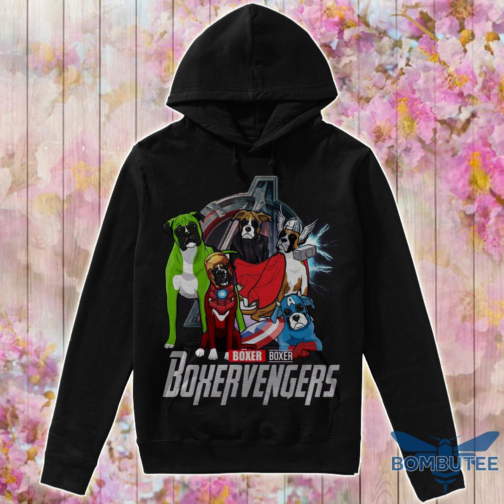 Super Heroes Boxer Boxervengers hoodie