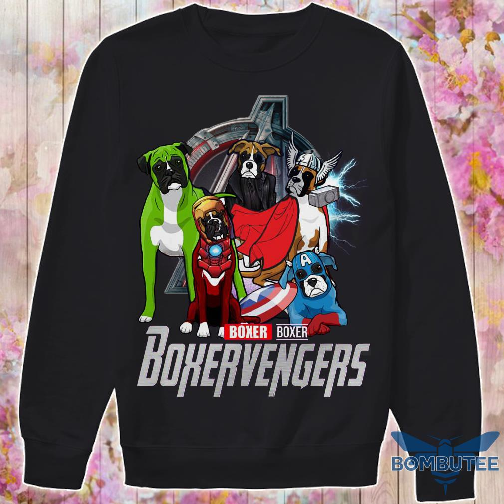 Super Heroes Boxer Boxervengers sweater