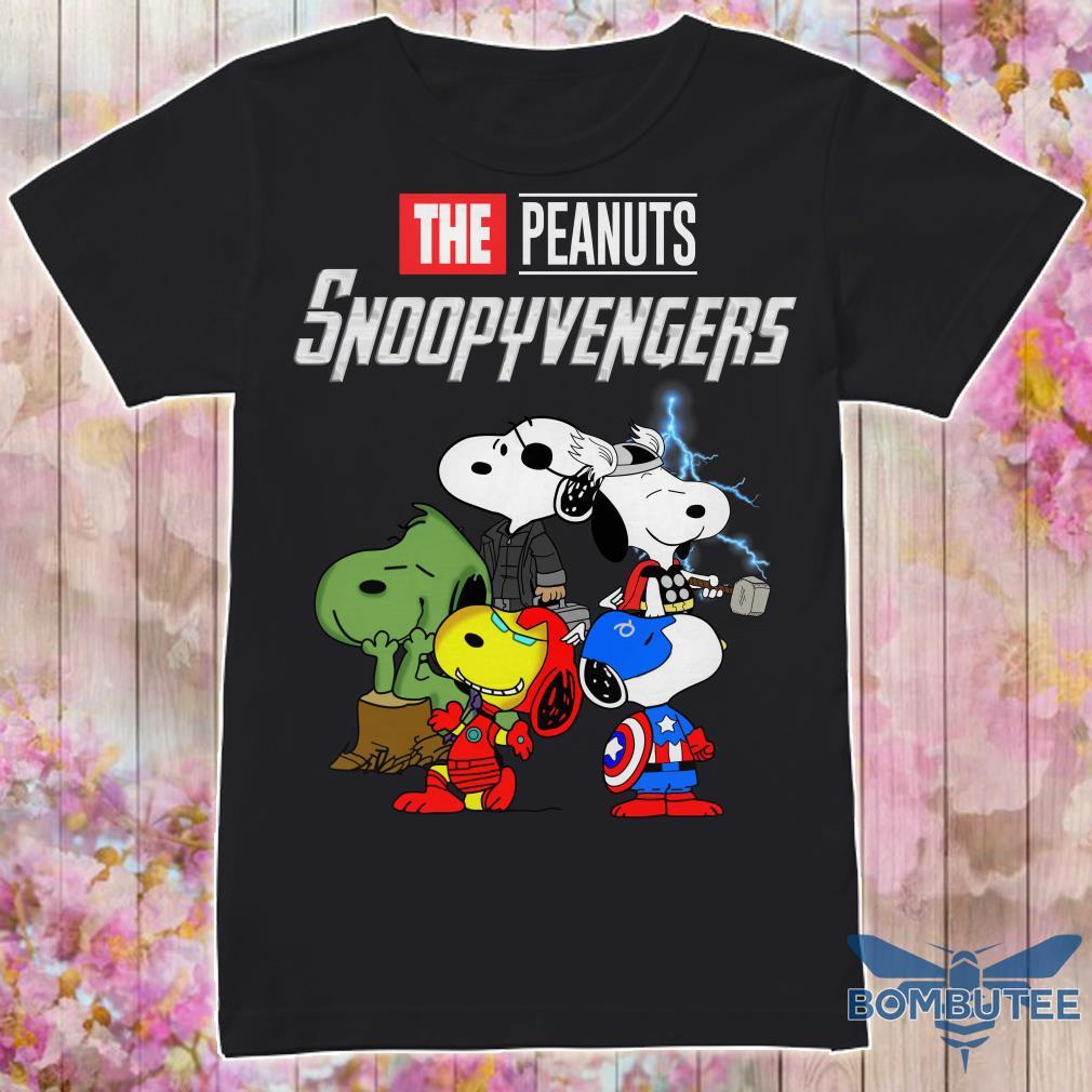 Super Heroes Peanuts Snoopyvengers shirt