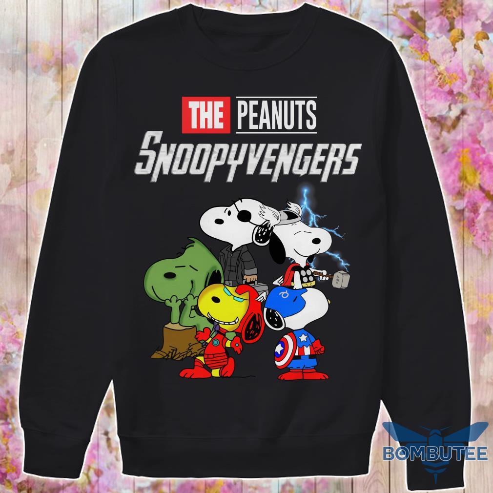 Super Heroes Peanuts Snoopyvengers sweater