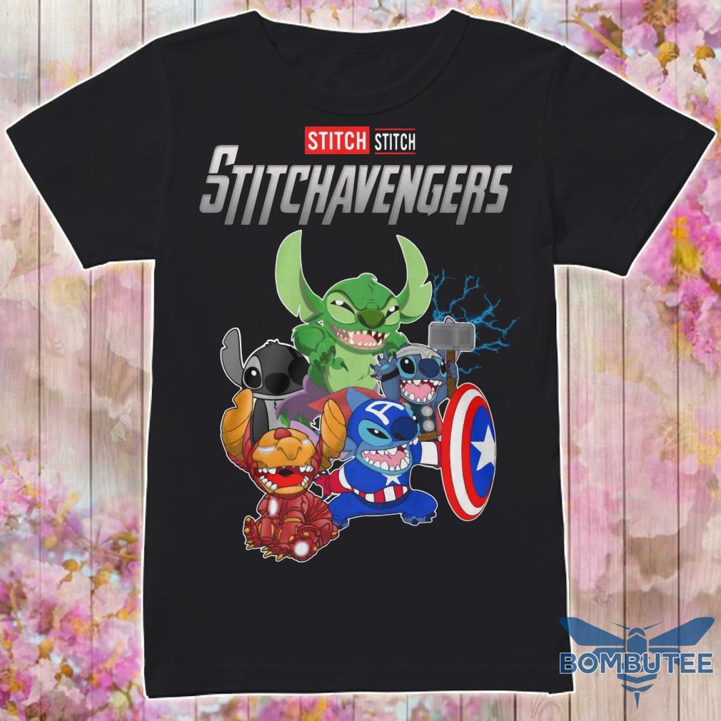 Super Heroes Stitch Stitchavengers shirt