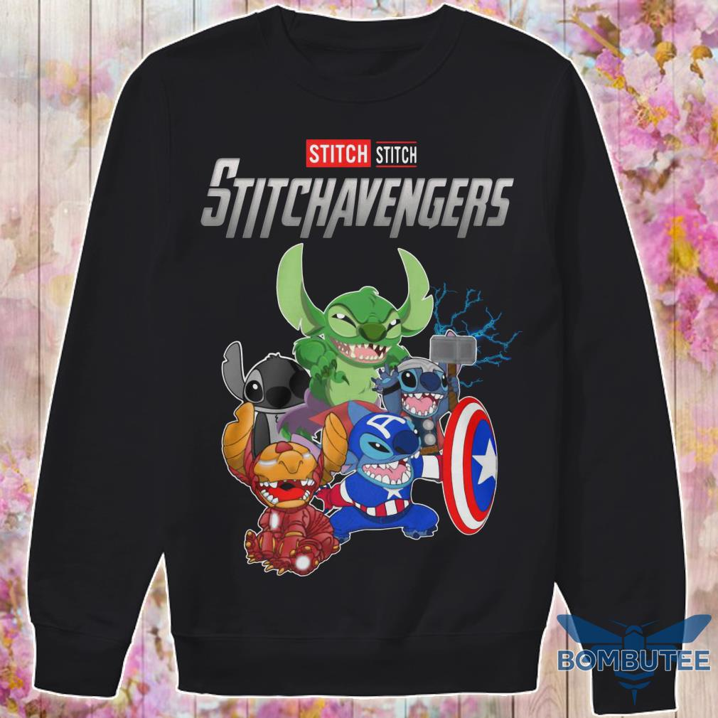 Super Heroes Stitch Stitchavengers sweater