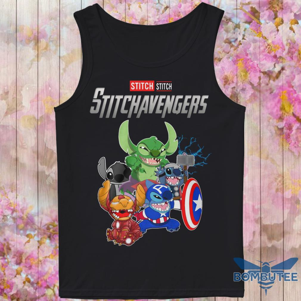 Super Heroes Stitch Stitchavengers tank top