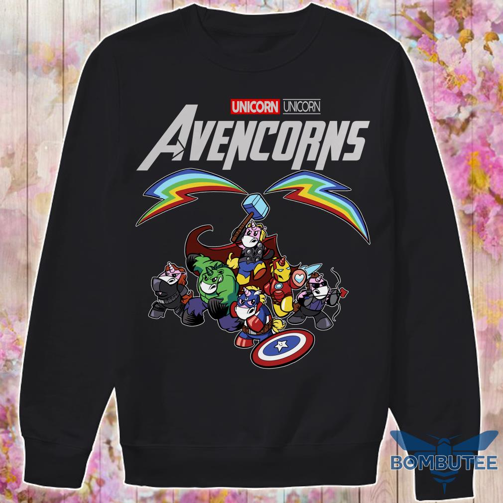 Super Heroes Unicorn Avencorns sweater