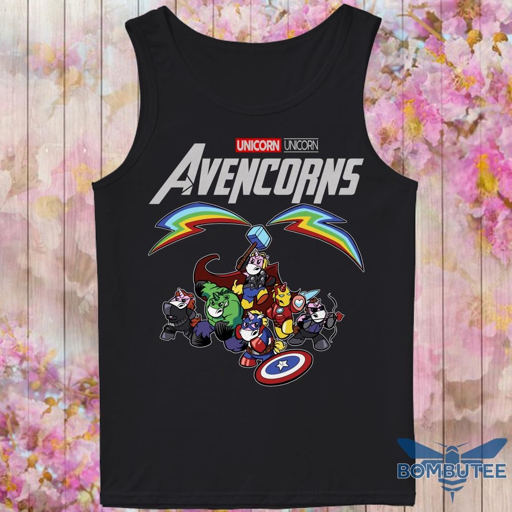 Super Heroes Unicorn Avencorns tank top