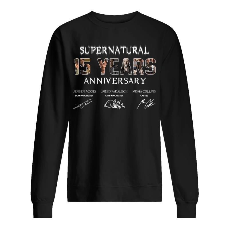 SuperNatural 15 years anniversary sweater
