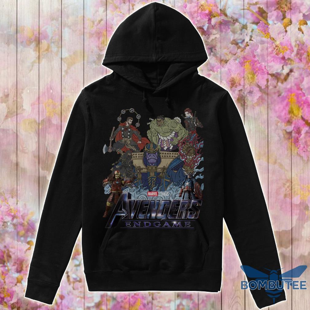 Avenger Endgame Version Samurai hoodie